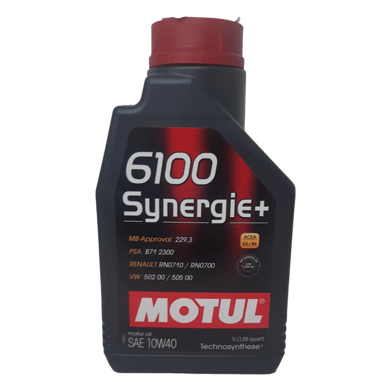 motul 6100 synergie 10w40