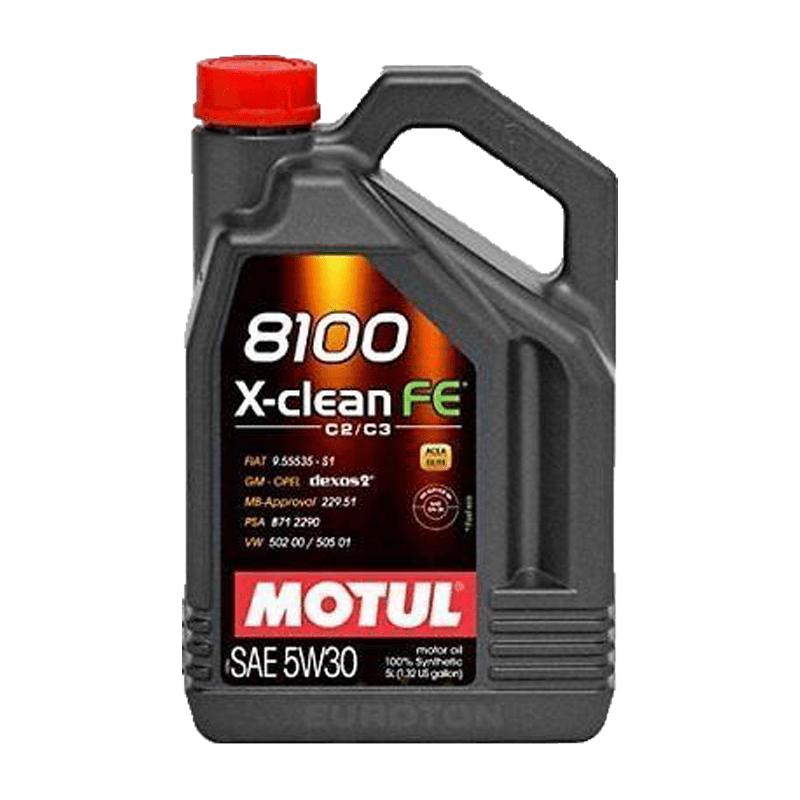 motul 8100 x clean fe 5w30
