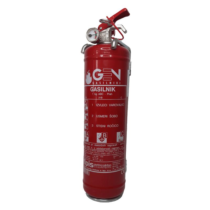 gasilni aparat 1kg obvezna oprema